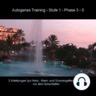 Autogenes Training - Anleitung Phase 3 - 5 vor dem Einschlafen