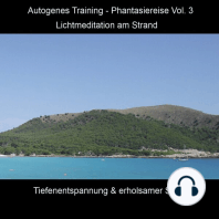 Autogenes Training - Phantasiereise - Lichtmeditation am Strand, Vol. 3