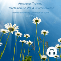 Autogenes Training - Phantasiereise - Sommerwiese - Tiefenentspannung & erholsamer Schlaf, Vol. 4