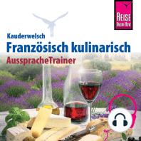 Reise Know-How Kauderwelsch AusspracheTrainer Französisch kulinarisch