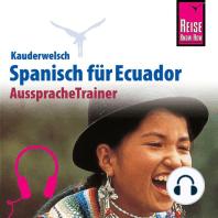 Reise Know-How Kauderwelsch AusspracheTrainer Spanisch für Ecuador