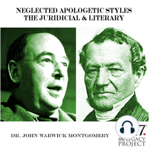 Neglected Apologetic Styles: The Juridicial & Literary