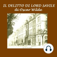 Delitto di Lord Savile , Il