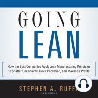 Going Lean