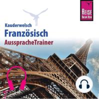 Reise Know-How Kauderwelsch AusspracheTrainer Französisch