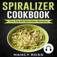 Spiralizer Cookbook
