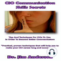 CIO Communication Skills Secrets