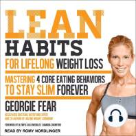 Lean Habits For Lifelong Weight Loss