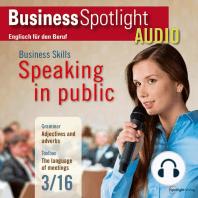 Business-Englisch lernen Audio - In der Öffentlichkeit reden