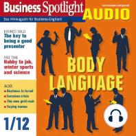 Business-Englisch lernen Audio - Körpersprache bei Präsentationen