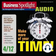 Business-Englisch lernen Audio - Zeitmanagement einmal anders
