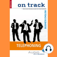 Business-Englisch lernen Audio Sonderedition - Telefonieren: Business Spotlight Audio Sonderedition - on track - Telephoning