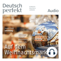 Deutsch lernen Audio - Auf dem Weihnachtsmarkt