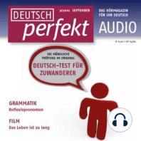 Deutsch lernen Audio - Deutsch-Test für Zuwanderer