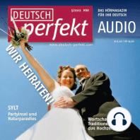 Deutsch lernen Audio - Heiraten