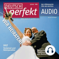 Deutsch lernen Audio - Heiraten