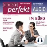 Deutsch lernen Audio - Im Büro