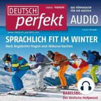 Deutsch lernen Audio - Im Winter