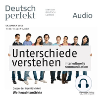 Deutsch lernen Audio - Interkulturelle Kommunikation