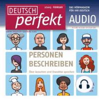 Deutsch lernen Audio - Personen beschreiben