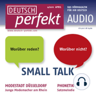 Deutsch lernen Audio - Small Talk