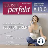 Deutsch lernen Audio - Telefonieren