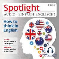 Englisch lernen Audio - Auf Englisch denken