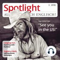 """Englisch lernen Audio - Reisetipps für die USA: Spotlight Audio 3/16 - Top travel tips """"See you in the US!"""""""