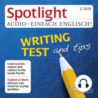 Englisch lernen Audio - Tipps für den IELTS-Test, schriftlicher Teil