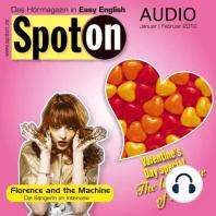 Englisch lernen mit Spaß Audio - Valentinstag: Spot on Audio 1/2 2012 - The language of love