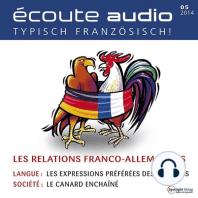 Französisch lernen Audio - Die deutsch-französischen Beziehungen
