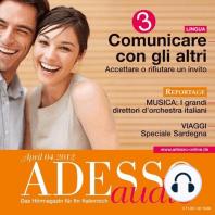 Italienisch lernen Audio - Kommunizieren Teil 3
