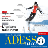 Italienisch lernen Audio - Skiurlaub