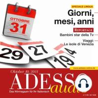 Italienisch lernen Audio - Wochentage, Monate, Jahre