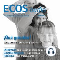 Spanisch lernen Audio - Personen und Dinge beschreiben