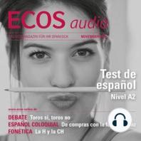 Spanisch lernen Audio - Spanisch-Test