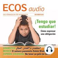 Spanisch lernen Audio - Verpflichtungen ausdrücken