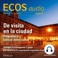 Spanisch lernen Audio - Wortschatz für die Städtereise