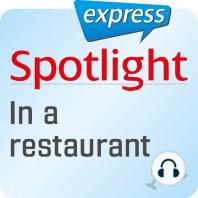 Spotlight express - Ausgehen - Im Restaurant