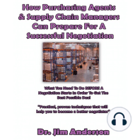 How Purchasing Agents & Supply Chain Managers Can Prepare for a Successful Negotiation