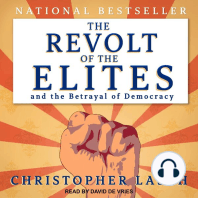 The Revolt of the Elites and the Betrayal of Democracy