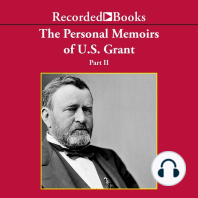 Personal Memoirs of Ulysses S. Grant, Part Two