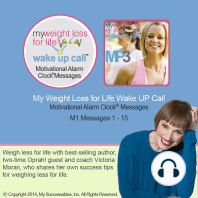 My Weight Loss for Life Wake UP Call™