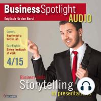 Business-Englisch lernen Audio - Präsentationen als Form des Geschichtenerzählens
