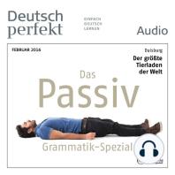 Deutsch lernen Audio - Das Passiv