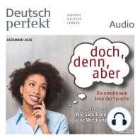 Deutsch lernen Audio - doch, denn, aber