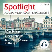 Englisch lernen Audio - Gespenstisches Dublin