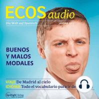 Spanisch lernen Audio - Gute und schlechte Manieren
