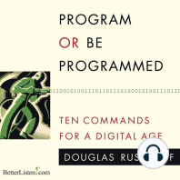 Program or be Programmed