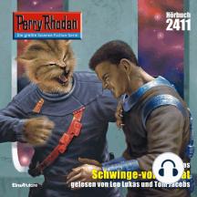 """Perry Rhodan 2411: Schwinge-von-Raffat: Perry Rhodan-Zyklus """"Negasphäre"""""""